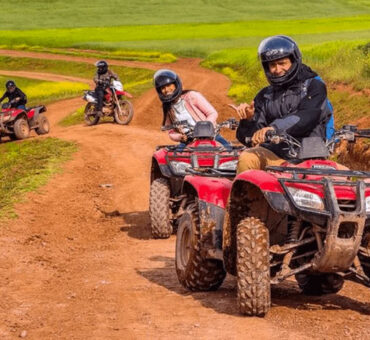 ATV to Moray and Salt Mines Half Day