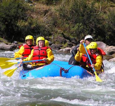 Rafting Chuquicahuana & Zip Line 1 Day
